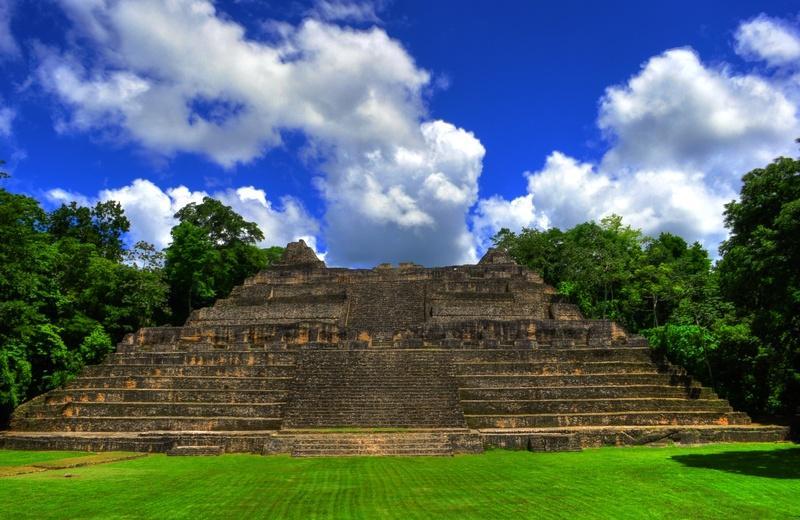 Caracol Mayan Temple