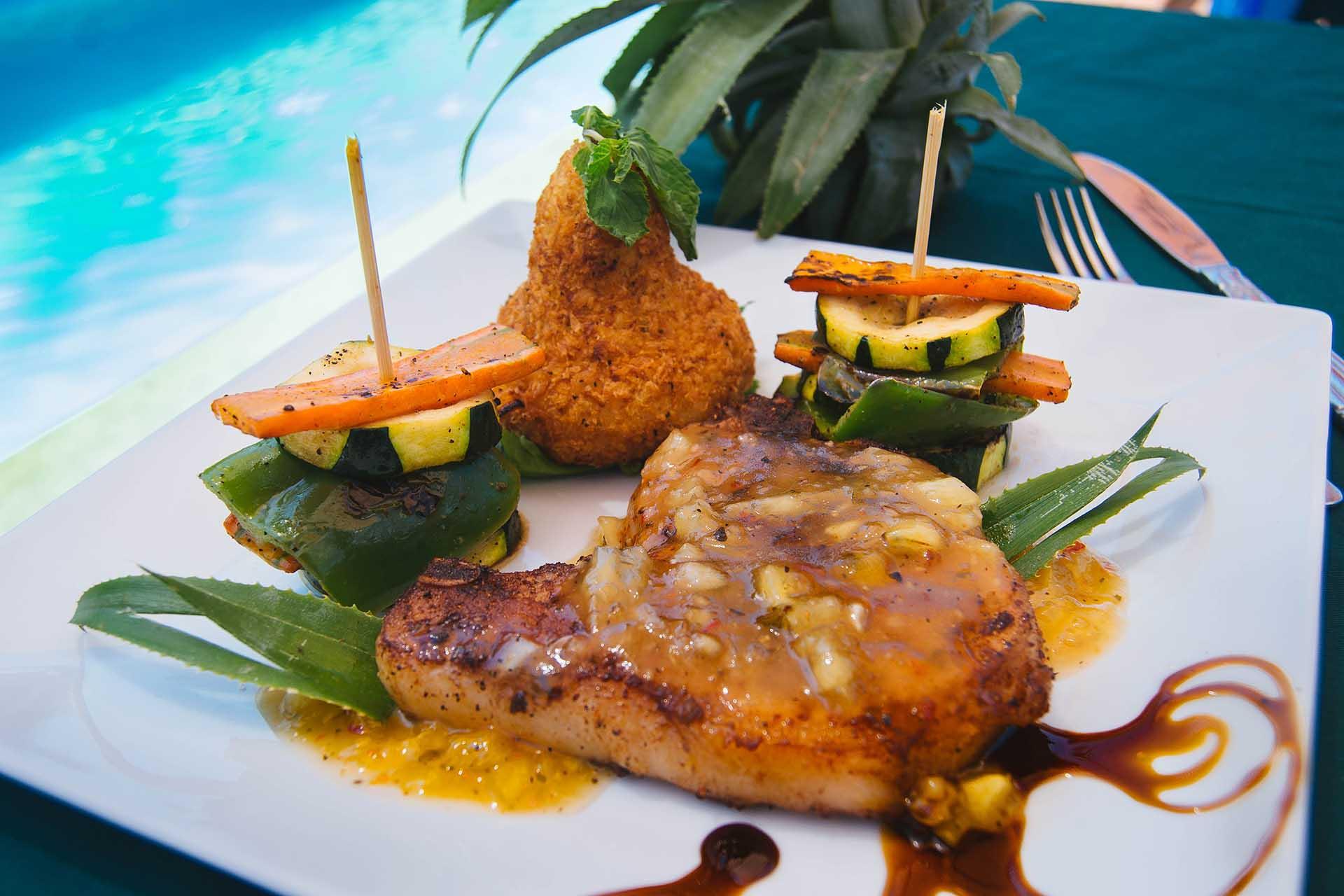 Pan-seared-Pork-Chops-with-Pineapple-Salsa