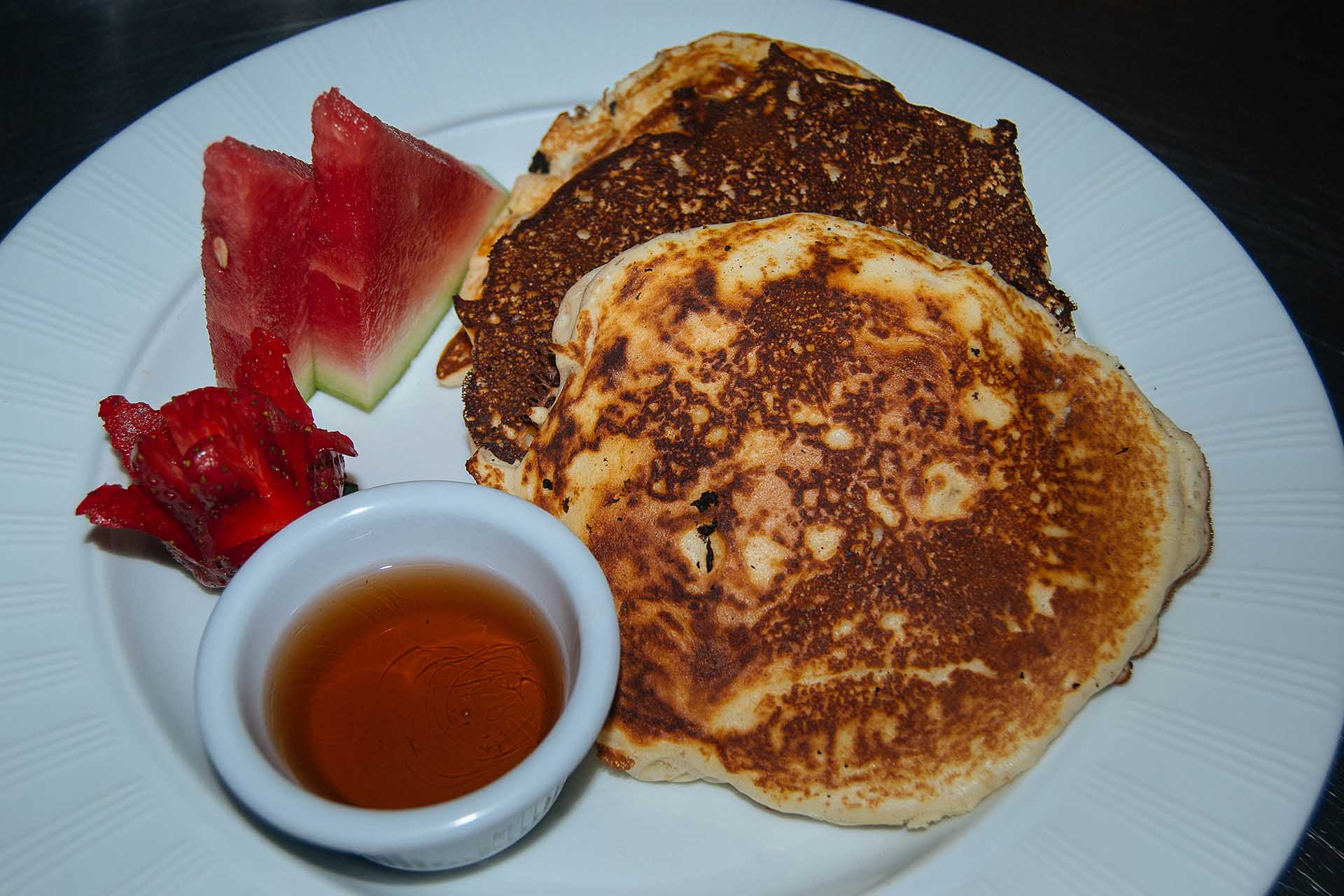 Pancakes-Syrup-Watermelon