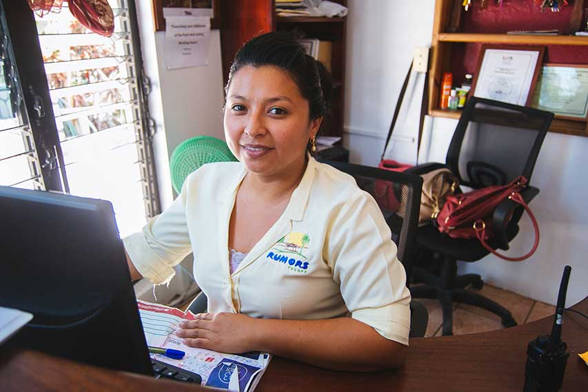 Our-receptionist