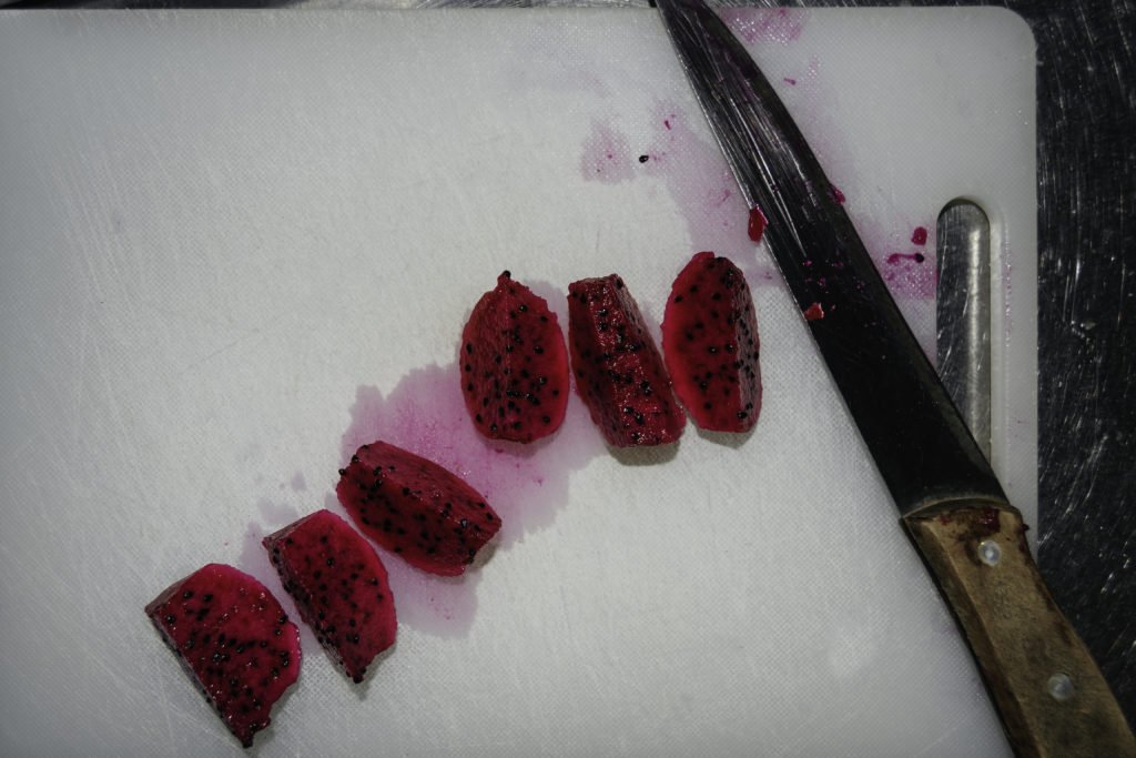 Frozen Dragon Fruit (Pitaya) Margarita Recipe by Rumors Resort